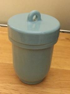 Ceramic Jar, twist-off lid